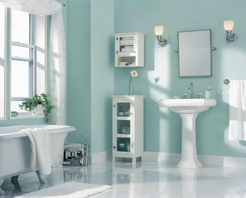 Najlepšie farby kúpeľne