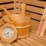 Zimný fínsky štýl s vyhrievaním saunou