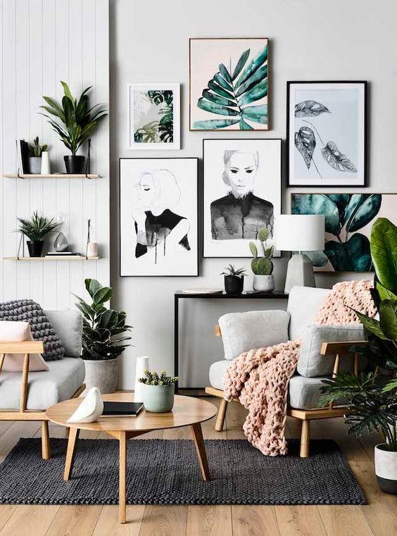 Úprava obývacej izby