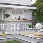Maľovaný tehlový dom