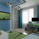 Zábavná chlapčenská izba