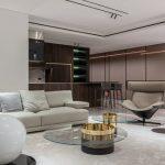 Dekorácie do modernej obývacej izby